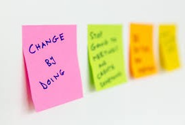 Change by doing